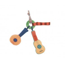 Hochet guitare Les Zig et Zag - Moulin Roty