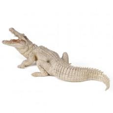 Figurine crocodile blanc - Papo
