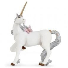 Figurine Licorne argentée - Papo