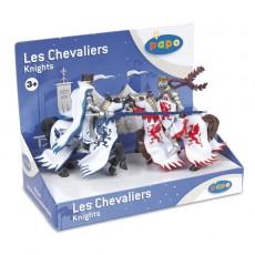Boîte présentoir figurines rois au dragon - Papo