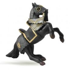 Figurine Cheval du Chevalier en Armure Noire - Papo