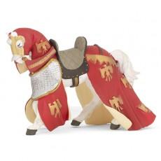 Figurine Cheval Drapé Rouge - Papo