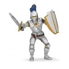 Figurine Chevalier en Armure Bleue - Papo