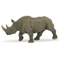 Figurine rhinoceros noir - Papo