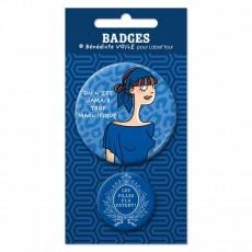 Badges Chloé - Bénédicte Voile