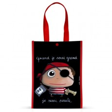 Petit sac cabas Pirate - Quand je serai grand(e) - Isabelle Kessedjian