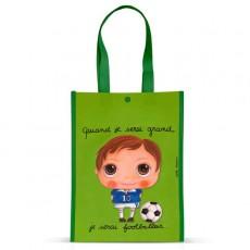Petit sac cabas Foot - Quand je serai grand(e) - Isabelle Kessedjian