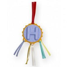 Hochet Alphabet lettre H - Ebulobo