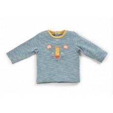 Tee-shirt bleu panthère Lumeau Les Papoum Hiver 2016 - Moulin Roty