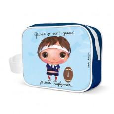 Trousse de toilette Rugbyman - Quand je serai grand(e) par Isabelle Kessedjan