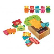 Puzzles - Arbra doudou - Djeco