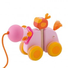 Jouet à traîner Hippopotame - Sevi