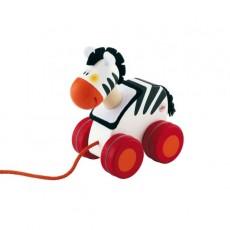 Mini jouet à traîner Zèbre - Sevi