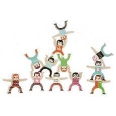 Les acrobates d'Ingela P. Arrhenius - Vilac