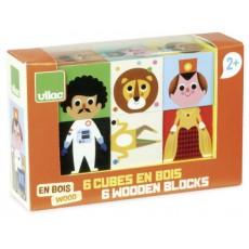 Cubes rigolos - Vilac