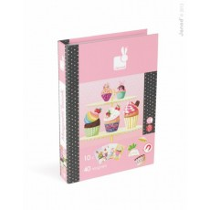 Magnetibook Cup Cakes - Janod