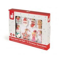 Coffret Décoration de Noël à suspendre - Janod