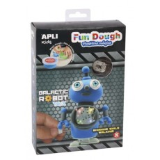 Kit Galactic Robot 'Fun Dough' bleu - APLI Kids