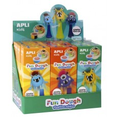 Monstres Sauteurs 'Fun Dough' - APLI Kids
