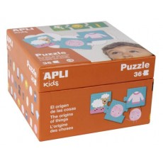 Puzzle l'origine des choses - APLI Kids