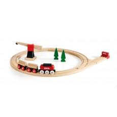 Circuit tradition transport de bois - Brio