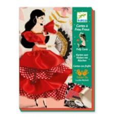 Cartes à frous-frous - Flamenco - Djeco