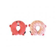 Coussin de voyage Flamingos le flamant rose - Les Déglingos