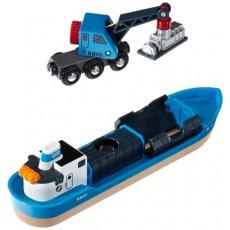 Navire porte-conteneur - Brio