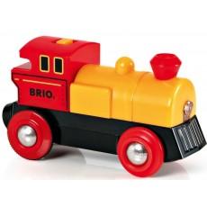 Locomotive à pile bi-directionnelle jaune - Brio