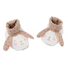 Chaussons lapin Les Petits Dodos - Moulin Roty
