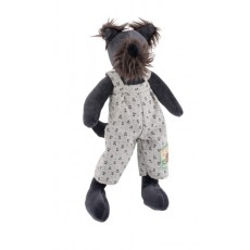 Walter le chien Les P'tits Frères - La Grande Famille - Moulin Roty