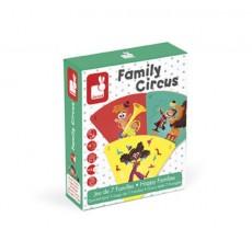 Jeu de 7 familles family circus - Janod