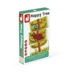 Jeu de mémoire - Happy Tree - Janod