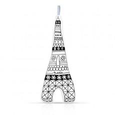 Tour Eiffel à colorier + 4 feutres lavables - Marielle Bazard