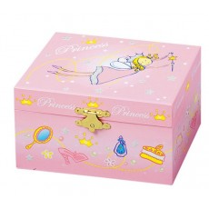 Coffret musical Princesse rose - Trousselier