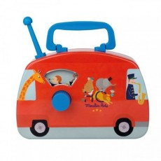 Bus musical cirque Les jouets métal - Moulin Roty