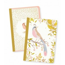 2 Petits Carnets Tinou - Lovely Paper by Djeco