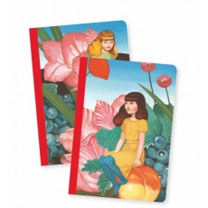 2 Petits Carnets Fédora - Lovely Paper by Djeco