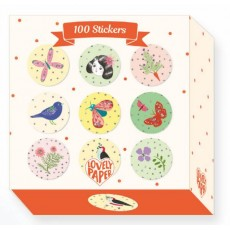 100 Stickers Chichi - Lovely Paper by Djeco