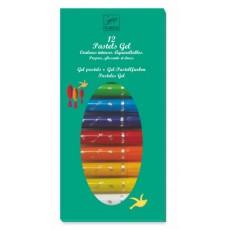 12 Pastels Gel - Classique - Djeco