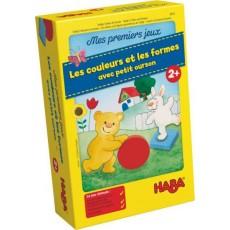 Les couleurs et les formes avec petit ourson - Haba