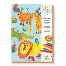 Mini totems à colorier - Tous copains - Djeco