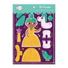 La Princesse - Puzzle 3D - Krooom