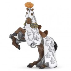 Figurine Cheval du prince Philippe Blanc - Papo