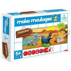 Moulage en plâtre Savane 3 moules - Mako Créations