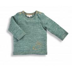 Nestor Tee-shirt vert renard Les Petits Habits Tartempois hiver 2017 - Moulin Roty