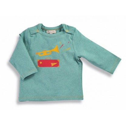 Nixon Tee-shirt trompette Les Petits Habits Tartempois hiver - Moulin Roty