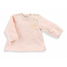 Ninon Tee-shirt rose Les Petits Habits Tartempois hiver 2017 - Moulin Roty