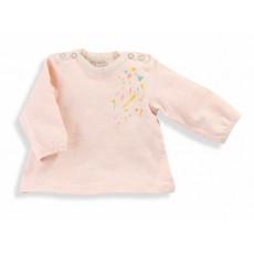 Ninon Tee-shirt rose Les Petits Habits Tartempois hiver - Moulin Roty