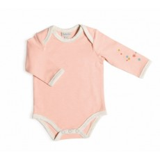 Manon Body rose manches longues Les Petits Habits Tartempois hiver - Moulin Roty
